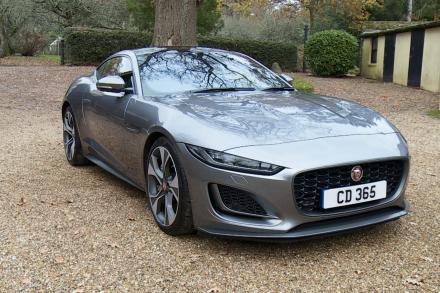 Jaguar F-type Coupe 5.0 P450 Supercharged V8 R-Dynamic Black 2dr Auto