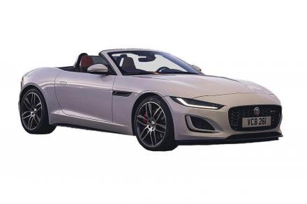 Jaguar F-type Convertible 5.0 P450 Supercharged V8 R-Dynamic Black 2dr Auto