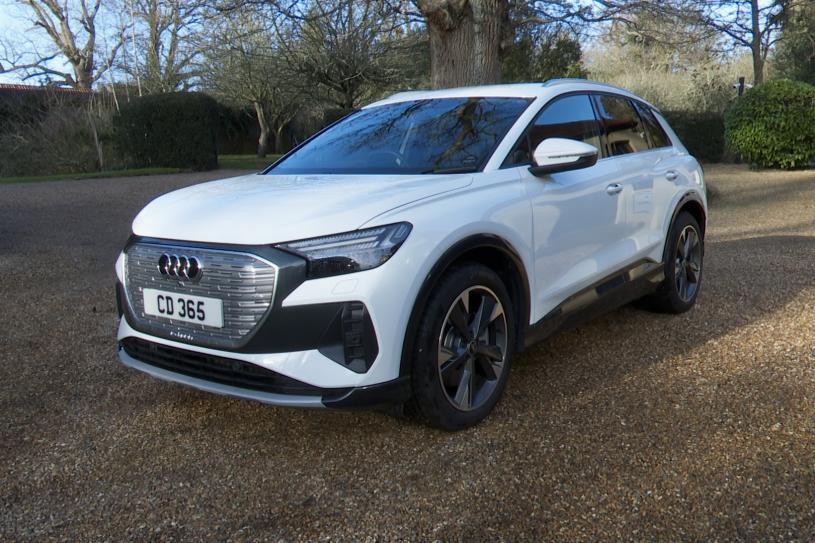 Audi Q4 E-tron Estate 125kW 35 55.52kWh S Line 5dr Auto [C+S]